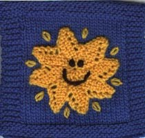 Knitting Pattern Of The Day : The Friendship Afghan Project: Pattern of the Day: Happy ...