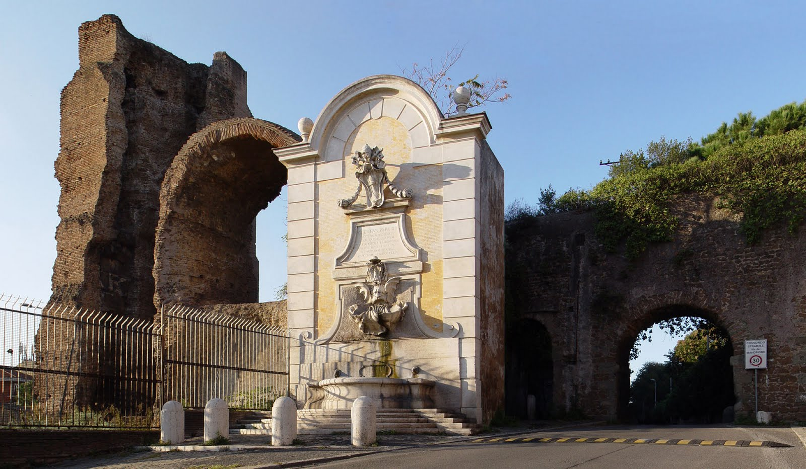 Fotos de italia fuentes villa borghese - Metro porta furba roma ...