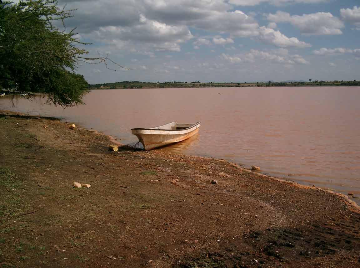 Mzima fishing camping site embu kenya masing dam boat for Fish camping boat