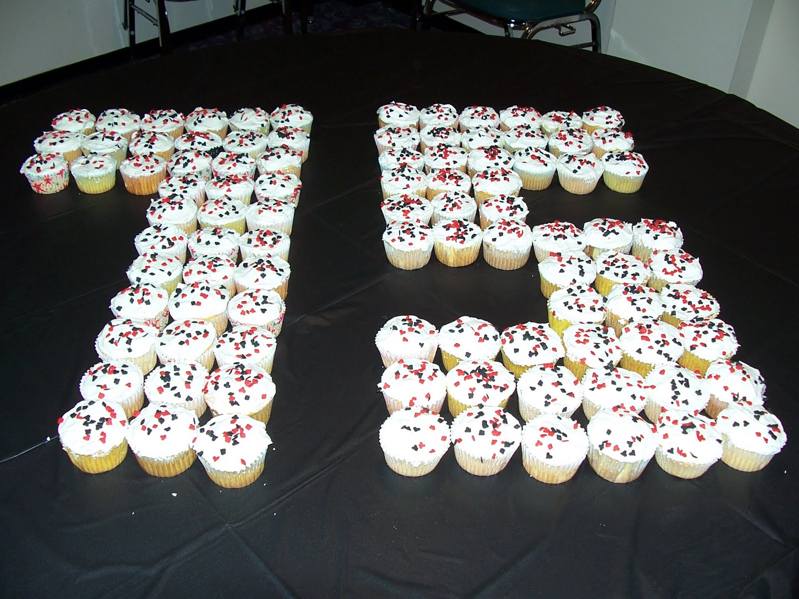 Cats kids and crafts birthday buffet for 75th birthday party decoration ideas