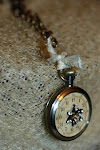 Vintage Pocket Watch Pendant
