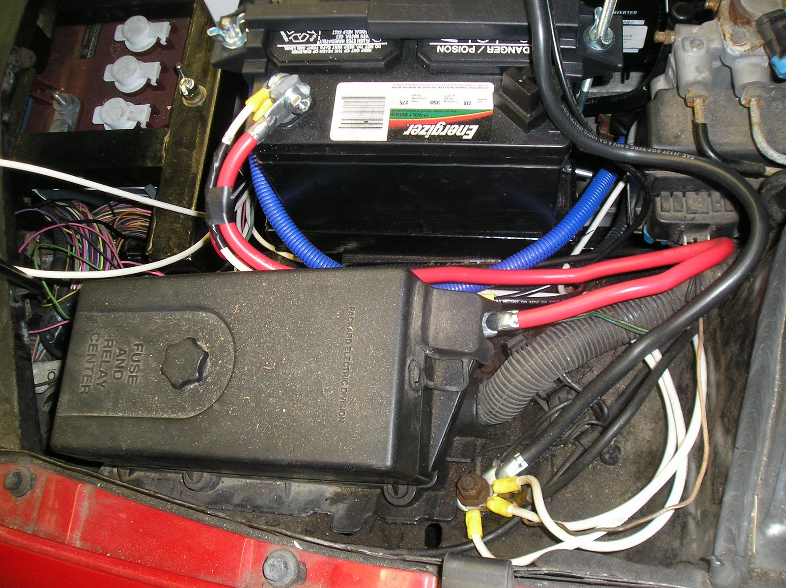 coupe de volt 2010 low voltage wiring engine compartment