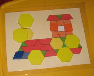 Mess For Less: Pattern Block Math Game