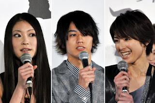Megumi, Kento e Michiko