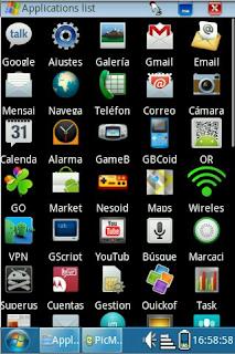 Samsung Galaxy Pro : Caracteristicas y especificaciones