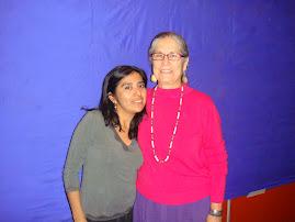 Con Miss Linda Jimenez