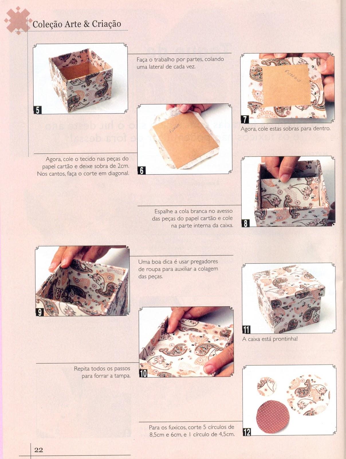Postando Sobre Artes: pap / tutorial como forrar caixa mdf com tecido #A85823 1208x1600