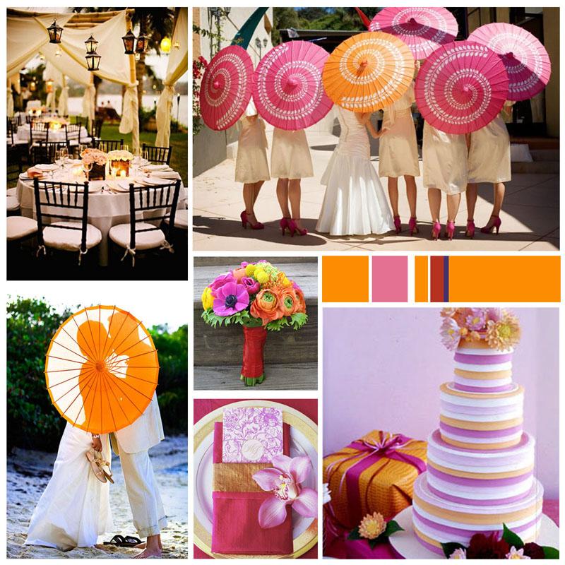Diario di una wedding planner ombrelli carta