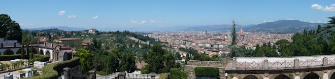 Firenze Panorama from the Chiesa di San Miniato al Monte