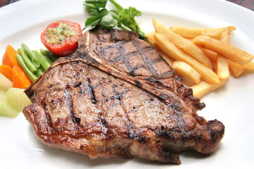 Kitchen Comments: T-Bone Steak w/Chipotle Aioli
