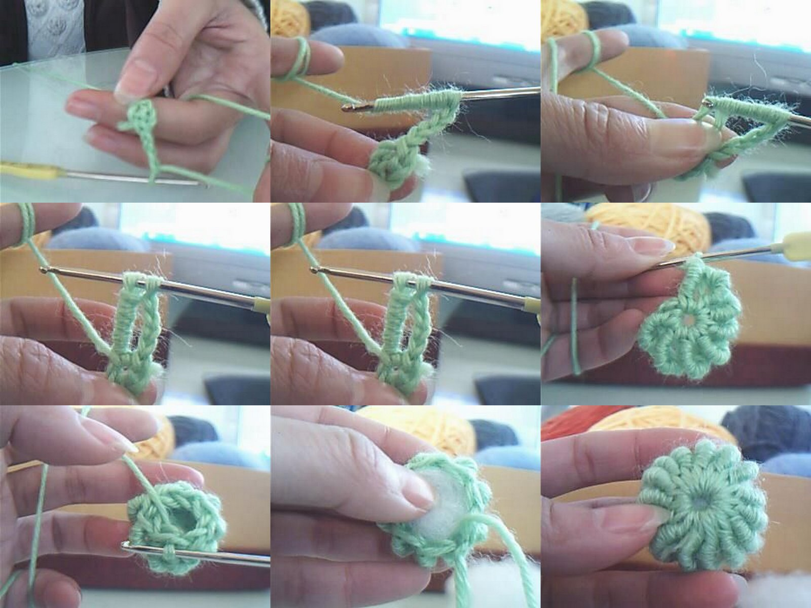 Crochet S Lo Con Paso A Paso O Video P G 27 Aprender  -> Tapetes Para Sala Tejidos A Crochet