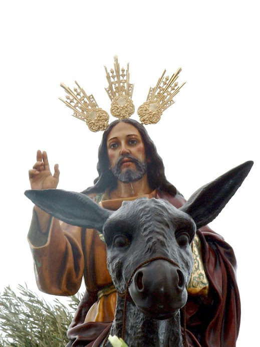 Ntro. Padre Jesus en su Entrada Triunfal en Jerusalen