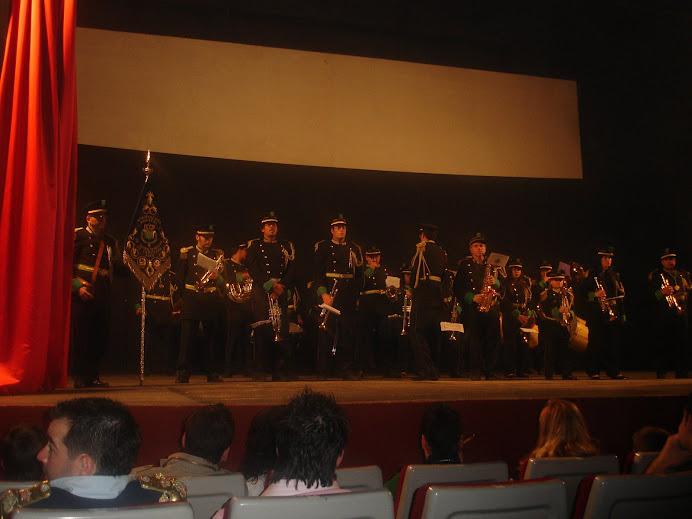 Foto de la banda en el II Memorial Maestro Fausto Viedma