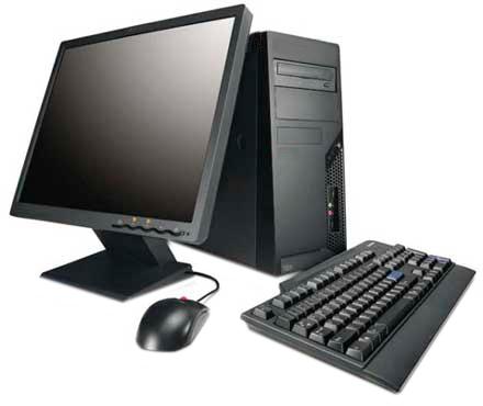 Pada awalnya, perangkat keras dari jenis komputer ini relatif sederhana.