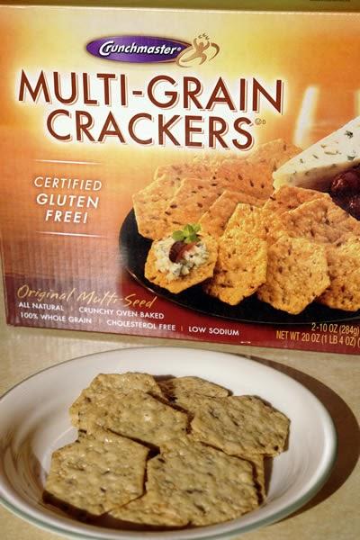 Gluten Free Blog: Crunchmaster Gluten-Free Multi-Grain Crackers Review