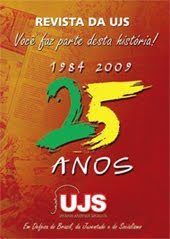 Revista de 25 anos da UJS