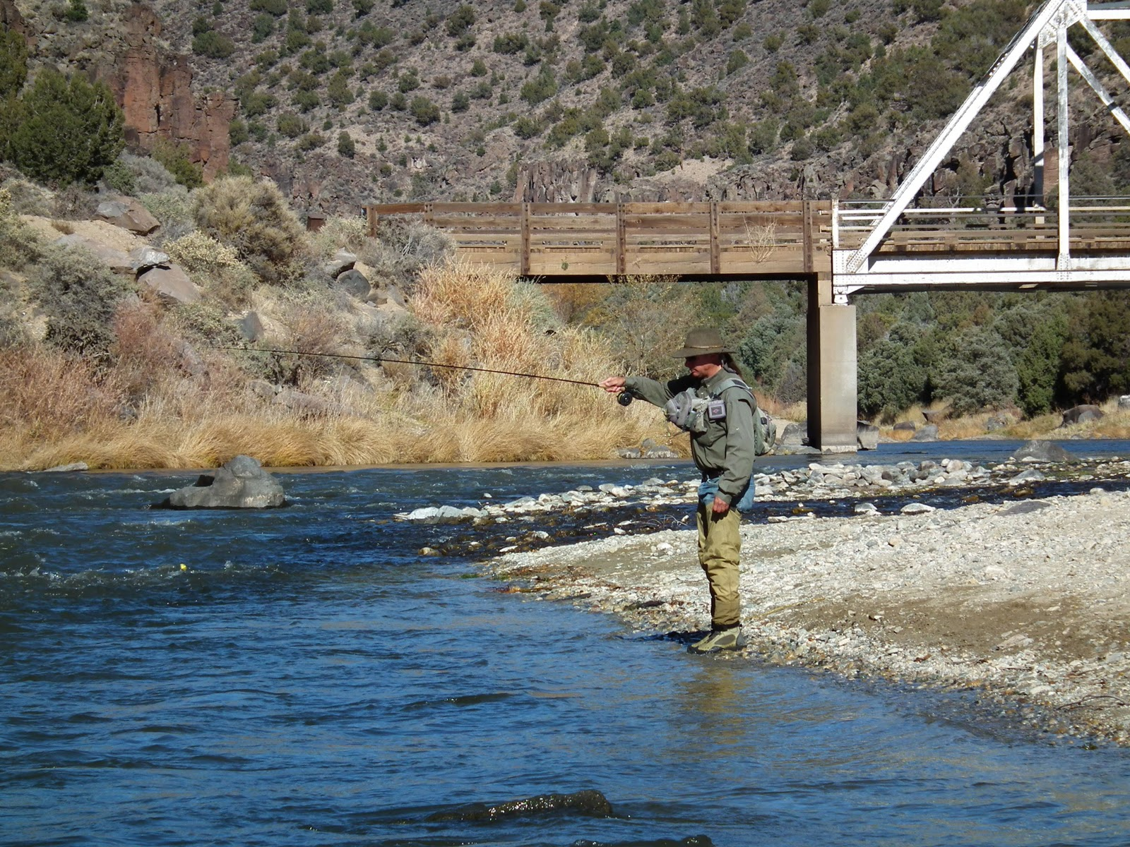 Longtime fly fishing guide and noted author van beacham for Fishing new mexico