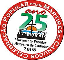 Movimento de Canudos 2008 - 25 Anos