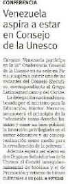 Venezuela Presente en Conferencia de la UNESCO