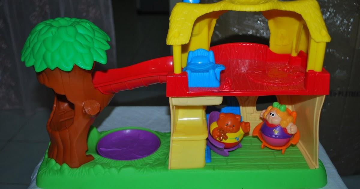 Playskool Weebles Goldilocks Adventure Cottage Brandedtoys
