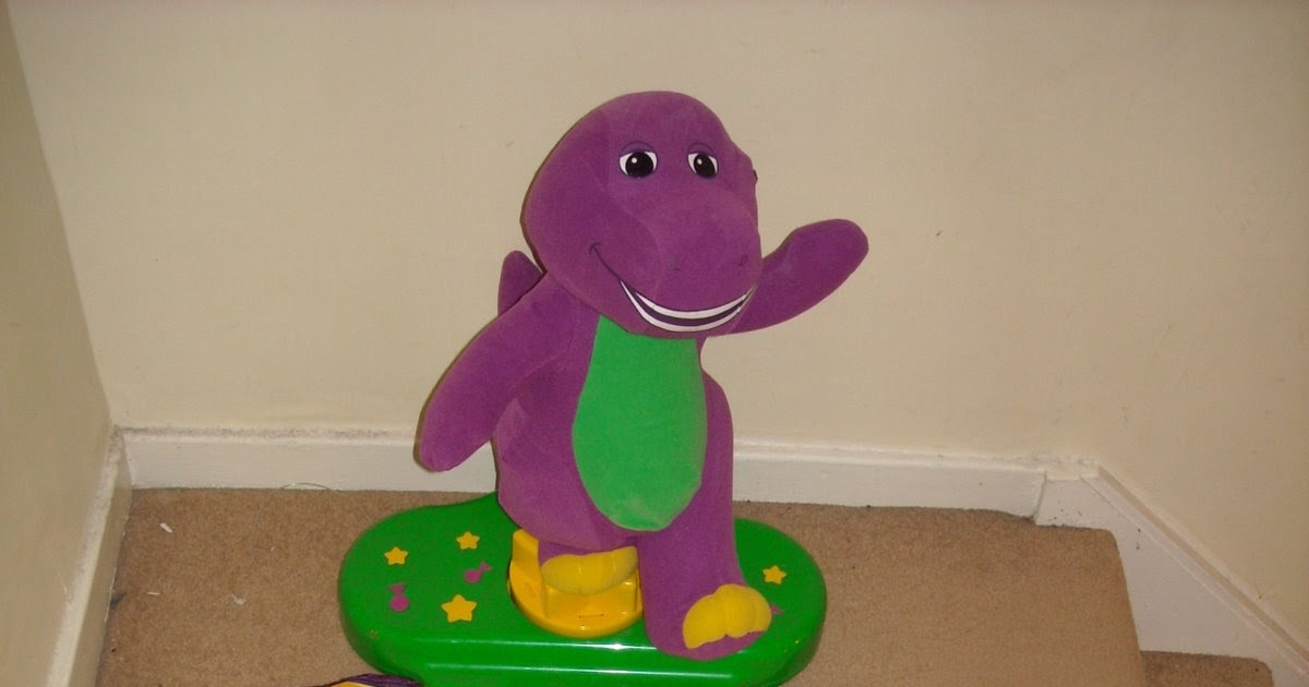 Fisher Price Barney Move 'n Groove Dance Mat | brandedtoys