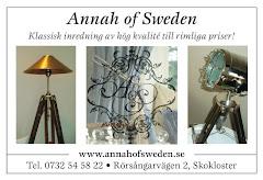 Annah of Sweden i Inredningsmagasin