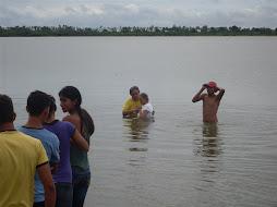 Batismo no Retiro