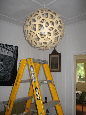 Fun and vjs coral pendant light installed carlo the electrician installed our david trubridge coral pendant in the lounge room yesterday yay aloadofball Gallery