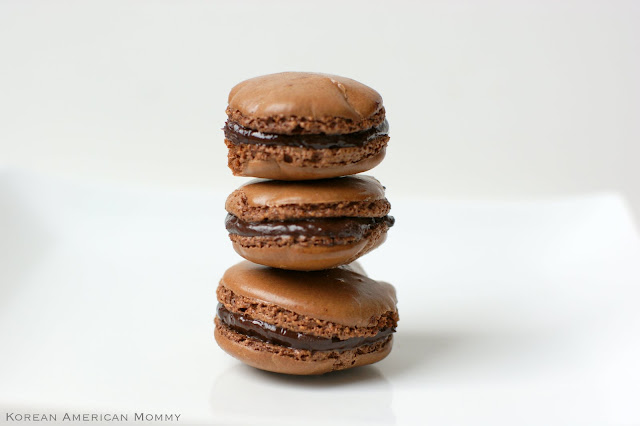 Korean American Mommy: French Chocolate Macarons