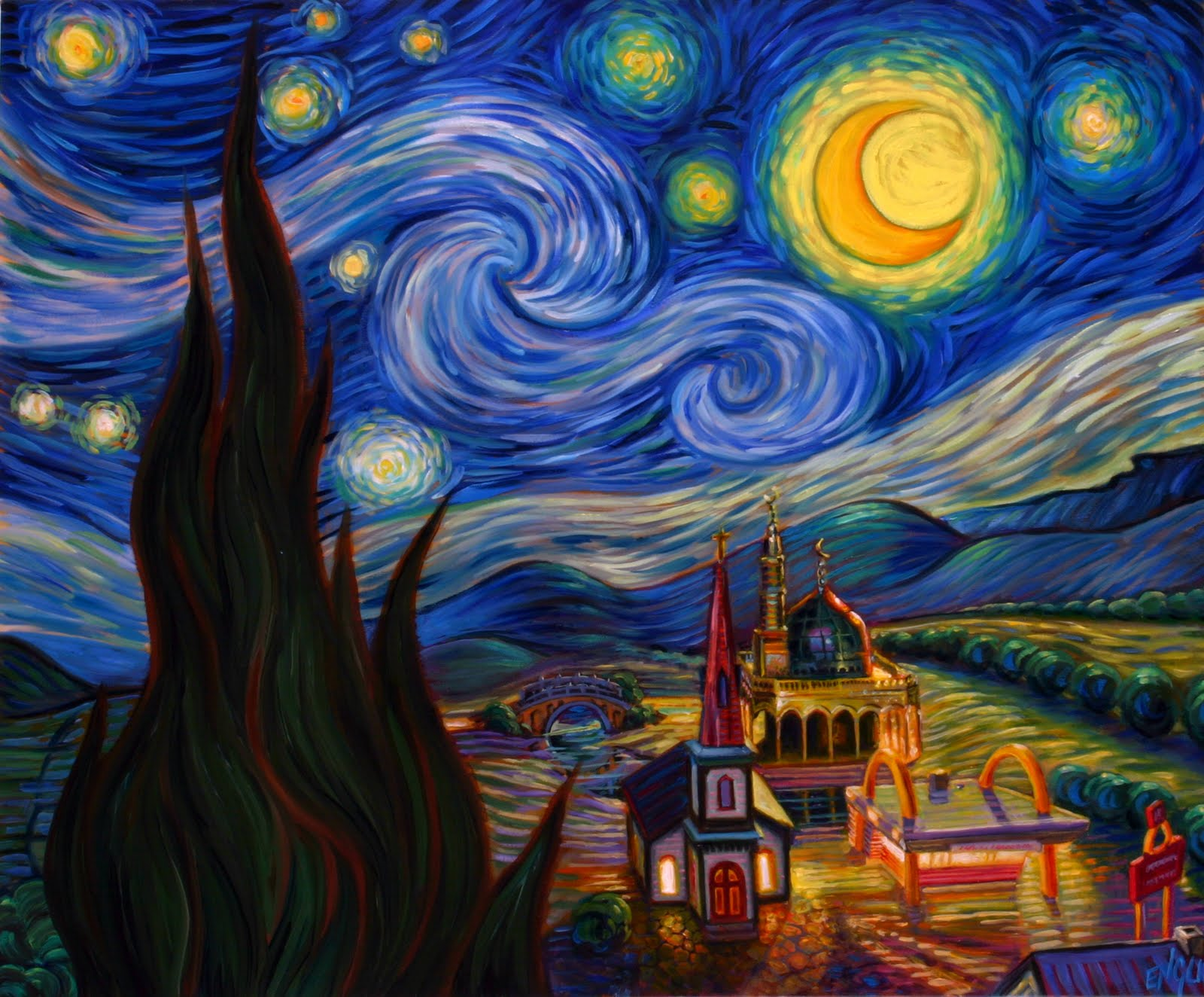 The Starry Night - Wikipedia