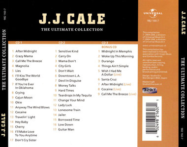 J.J. Cale - City Girls - Devil In Disguise