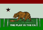 The Official Play In CA Logo