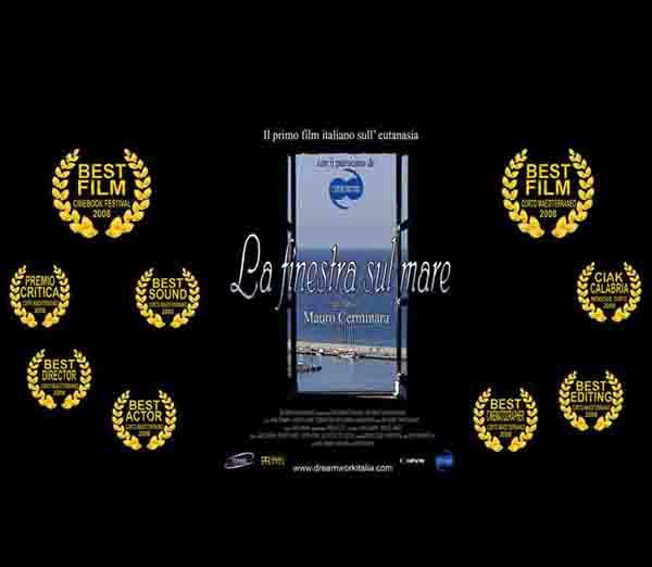 """""""La finestra sul mare"""" il primo film italiano sull' eutanasia"""