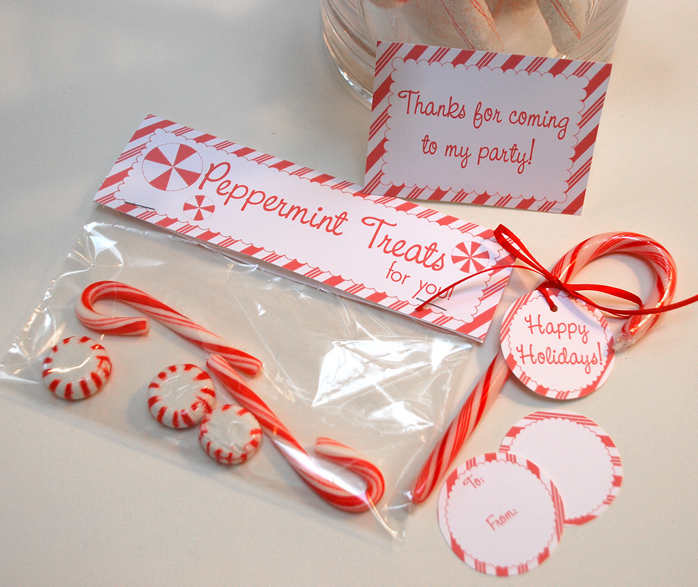 Party printables by b nute productions your peppermint
