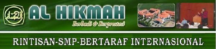 RSBI SMP AL HIKMAH-warta