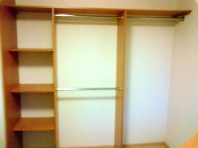 Closets dise os e ideas febrero 2009 for Disenos de closets sencillos