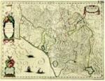 Stato della Repubblica di Lucca 1780 circa