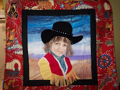 My Cowgirl-Wallhanging by me
