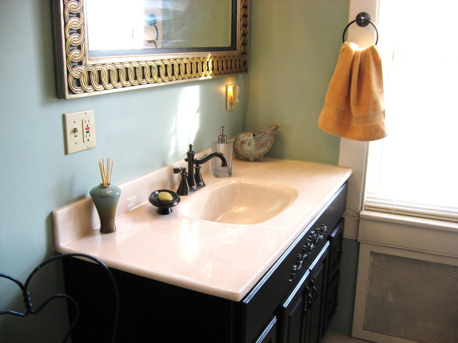 Benjamin moore palladian blue bathroom - And It S The Color Of The Hall Bathroom At That Old House So Of Course We Had To Choose It