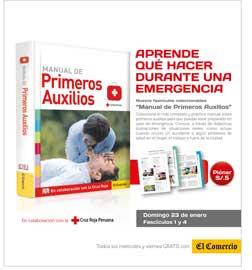 ... el diario El Comercio presentan fascículos de primeros auxilios