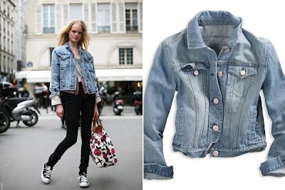 stylesightings denim jacket - Kot ceketler,kot �ortlar,y�rt�k kotlar '09 !