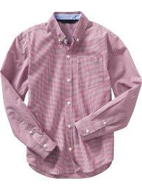 GAP Erkek Çocuk Gömlekleri