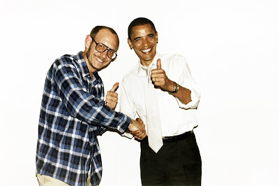 terry richardson, photographer and Barrack Obama, president of the united states