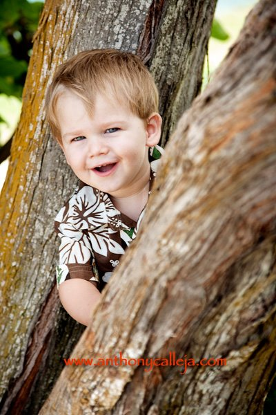 Hawaiian Island Children Photography
