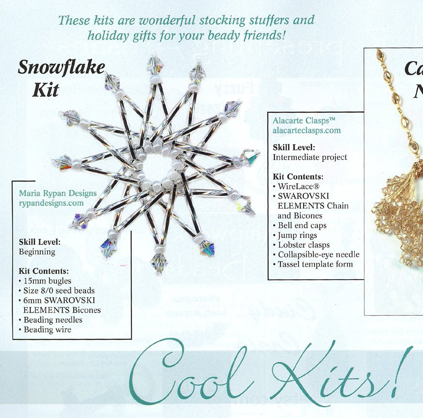 Beaded Snowflake Free Bead Pattern - Welcome to About.com: Beadwork