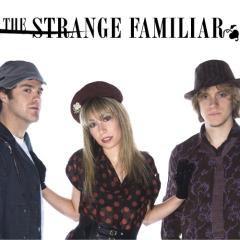 the strange familiar poster