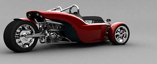 Cool design style Cirbin V13R motorcycle