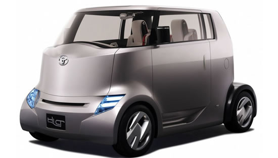 New Modern Design Toyota Hi-Ct Concept Car