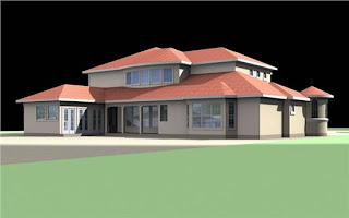 Concept Modern 3D Home Design with Natural Ideas