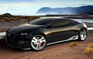 Design Modern Car Concept Peugeot E-motion French Super Car Future